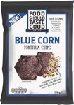 Food Should Taste Good Tortilla Chips Blue Corn 150g