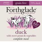 Forthglade Complete Puppy Duck with Sweet Potato and Veg Grain Free 9 x 125g