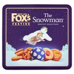 Foxs Festive Snowman Biscuit Selection 300g (approx)