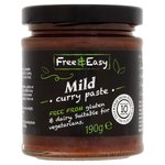 Free and Easy Free From Madras Curry Paste 198g