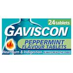 Gaviscon Original Peppermint Tablets 24 per pack