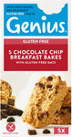 Genius Gluten Free Breakfast Bakes Chocolate Chip 5 Pack