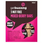 GetBuzzing Nut Free Mixed Berry Bars 3 x 62g