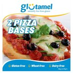 Glutamel Gluten Free Part Baked Pizza Bases 2 x 150g