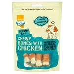 Good Boy Chewy Mini Bones with Chicken 80g