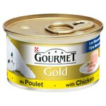 Gourmet Gold Cat Food Pate with Chicken 85g