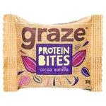Graze Cocoa and Vanilla Protein Bites 30g
