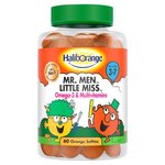 Haliborange Kids Omega 3 and Multivitamins Gummies Orange 60s