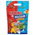 Haribo and Maoam Halloween Duo Sweets Pouch 450g