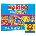 Haribo Share The Happy 22 Treatsize Mini Packs 352g