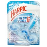 Harpic Fresh Power 6 Marine Splash Rim Block 39g