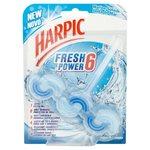 Harpic Fresh Power 6 Marine Splash Rim Block 39g