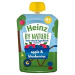Heinz 4 Month Apple and Blueberries 100g pouch