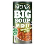 Heinz Big Soup Veg And Bean Stew 500g
