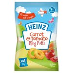Heinz Carrot and Tomato Ring Puffs 4 Pack