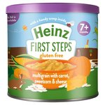 Heinz First Steps Multigrain with Carrot Sweetcorn and Cheese 200g