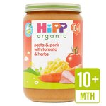Hipp 10 Month Organic Pasta and Pork with Tomatoes and Herbs 220g