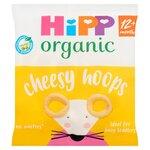 HiPP Organic Cheesy Hoops 25g