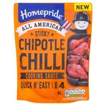Homepride All American Sticky Chipotle Chilli Cooking Sauce 200g
