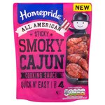 Homepride All American Sticky Smoky Cajun Cooking Sauce 200g