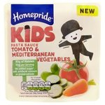 Homepride Kids Tomato And Mediterranean Vegetable Pasta Sauce 170G