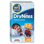 Huggies 3-5 years DryNites for Boys 10 per pack