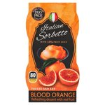 Italian Sorbetto Blood Orange 2 x 90ml