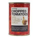 Waitrose Italian Tomatoes with Olive Oil and Garlic 400g