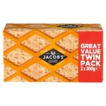 Jacobs Cream Crackers 2 x 300g