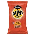 Jacobs Mini Cheddars Red Leicester 12 Pack