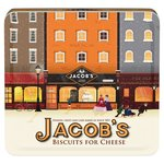 Jacobs The Baker Brothers Biscuits for Cheese Tin 300g