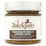 Joe and Sephs Madagascan Vanilla Caramel Sauce 230g
