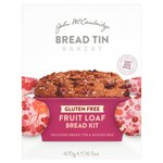 John McCambridge Bread Tin Bakery Gluten Free Fruit Loaf Kit 470g