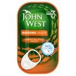 John West Mackerel Fillets in Mexican Sauce 125g