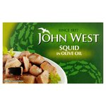 John West Squid in Olive Oil 111g