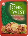 John West Tomato and Herb Tuna Pouch 85g