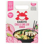 Kabuto Chilli and Lime Leaf Ramen Noodle Kit 150G