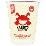 Kabuto Rice Gluten Free Thai Red Vegetable Curry 60g