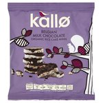 Kallo Organic Milk Chocolate Rice Cake Minis 40g