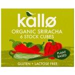 Kallo Organic Sriracha Stock Cubes 6 Pack