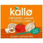 Kallo Organic Umami Stock Cubes 6 Pack