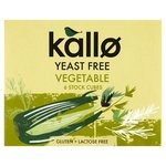 Kallo Yeast Free Vegetable Stock Cubes x 6