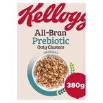 Kelloggs All Bran Prebiotic Oaty Clusters Original 380g