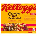 Kelloggs Crunchy Nut Granola Bars Cranberries and Nut 4 Pack