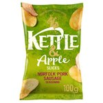 Kettle And Apple Slices Norfolk Pork Sausage 100G