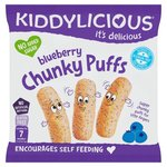 Kiddylicious Chunky Puffs Blueberry 12g