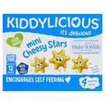 Kiddylicious Mini Cheesy Stars 4 Pack