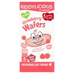 Kiddylicious Mini Strawberry Wafers 5 x 4g
