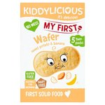 Kiddylicious My First Banana and Sweet Potato Wafer 5 x 3g