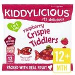 Kiddylicious Raspberry Crispie Tiddlers 4 x 12g